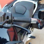 Napoleon AP104 fitted to 2008 BMW R1200RT